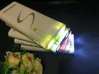 samsung big powerbank with flash light