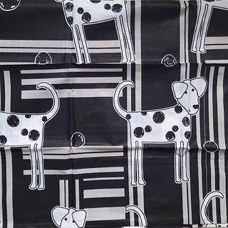 Bedsheet 180cmx200cm DOG motif
