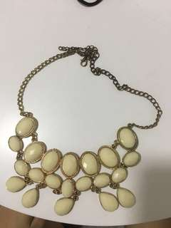 kalung necklace jewelry flower floral party pesta
