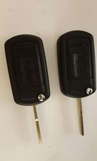 New Range Rover Key Casing with Key