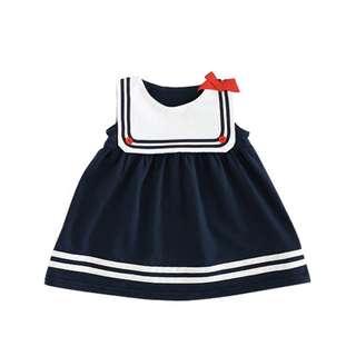 Sweet Pinafore Schoolgirl Baby Newborn Dress