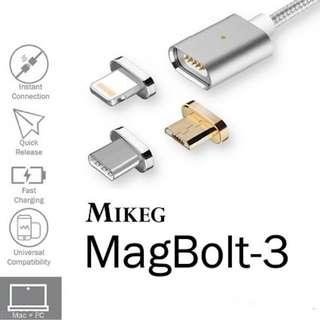 MIKEG 磁力快充數據線