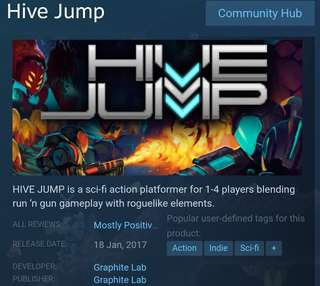 [Clearance Sale] Steam - Hive Jump Game