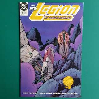 The Legion of Super-Heroes No.1 comic