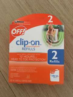 Mosquito repellant - clip on - OFF!