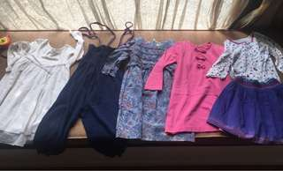 Lot of clothes for 4 yrs old girl