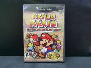 Nintendo GameCube NGC Paper Mario: The Thousand Year Door (Used Game)