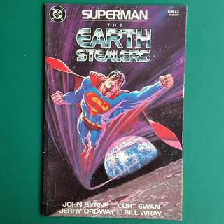 Superman- the Earth Stealers comic