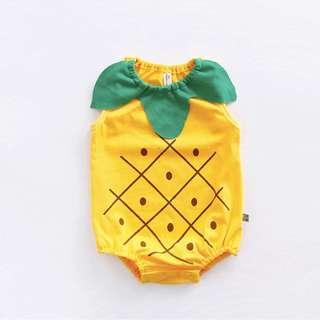 Cute Pineapple Baby Newborn Romper/Onesie