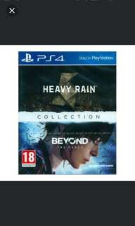PS4 Heavy Rain And Beyond Two Souls Collection