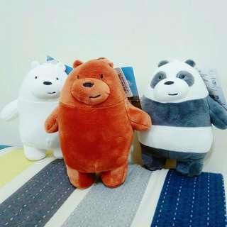 🚚 全新💥6英吋熊熊遇見你