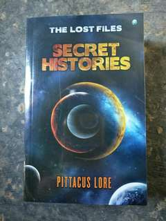 Seri Lorien Legacies - Secret Histories - Pittacus Lore