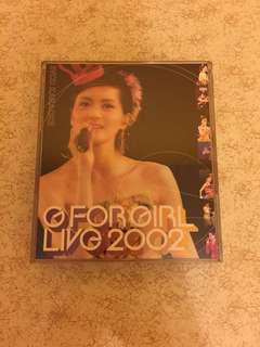 梁詠琪 G for girl Live 2002 2VCD KARAOKE