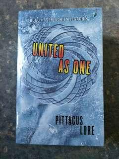 Seri Lorien Legacies - United as One - Pittacus Lore