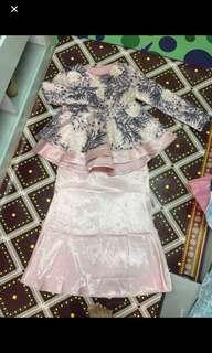 Baju kurung lace (ala minaz)