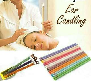 🚚 20 stick Ear candle set