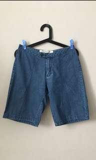 Bermudas Denim Shorts