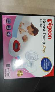 Never used Pigeon Electrical Breast pump pro