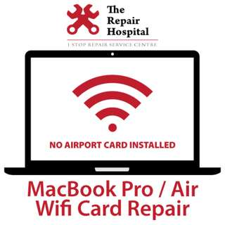 MacBook Pro / Air Wifi Card 60 Min Express Replacement