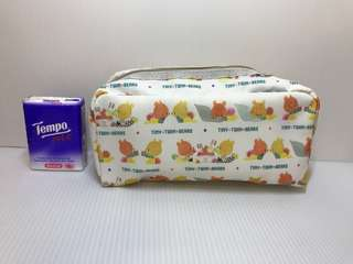 Cosmetic bag 化妝袋 Tiny Twin Bear