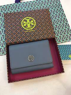 Original Ready Stock Tory Burch Robinson medium flap wallet