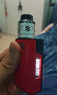 Vape sigelei 180 DNA + rda royal hunter