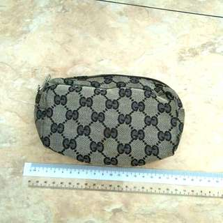 GUCCI VINTAGE POUCH - CANVAS