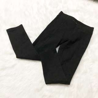 H&M black leggings thick material
