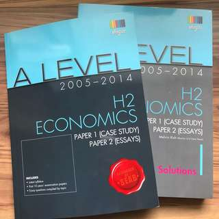 A Level H2 Economics Ten Year Series (TYS) (2005-2014)