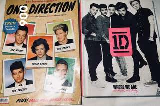 1D Where We Are + 1D magazine