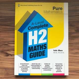 A Level H2 Mathematics Pure Math Guide Book