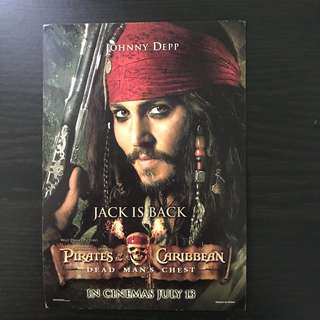 Johnny Depp Postcard
