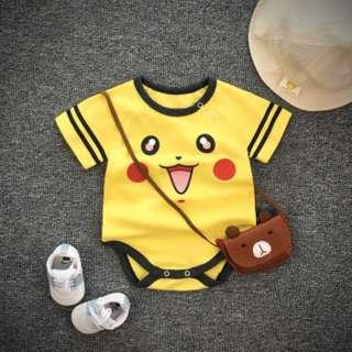 Pikachu Baby Newborn Romper/Onesie