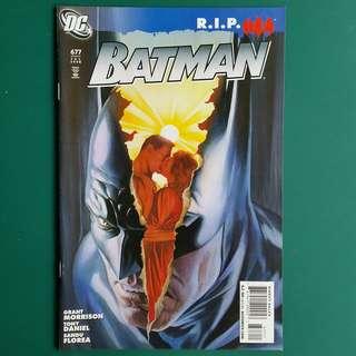 Batman No.677 comic