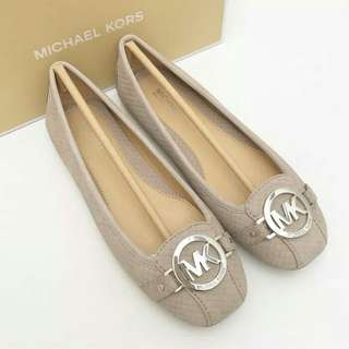 Michael kors fulton mink flat shoes