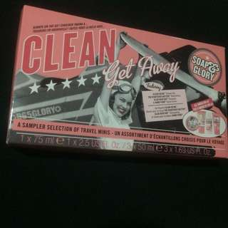 Soap & Glory Travel Minis Made in UK