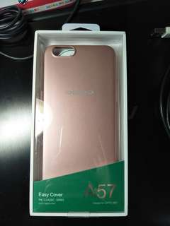🚚 Oppo A57 手機殼 保護殼 玫瑰金