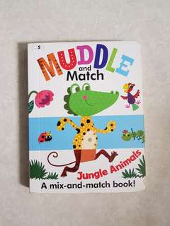 Muddle and Match_Jungle Animals