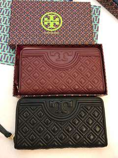 Original ready stock Tory Burch women Fleming wallet