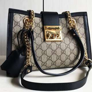 Gucci Padlock Supreme Shoulder Bag (Just look at the price without looking at quality.Please bypass,Tq)