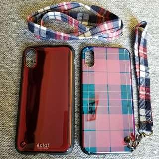 iPhone X case 保護套 日本買 買左邊送右邊