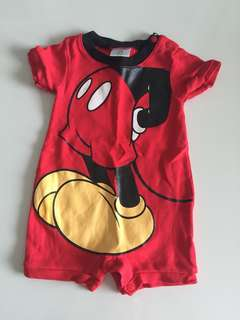 Mickey Mouse romper from Disney baby 3-6 mos