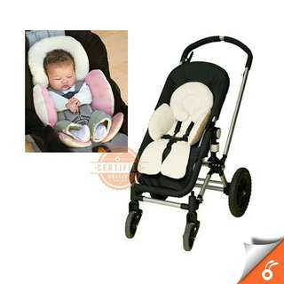 *FREE DELIVERY to WM only / Ready stock* Baby pillow stroller for head & body support each as shown in design/color. Free delivery is applied for this item.