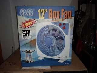 "QQ Box Fan 12"""