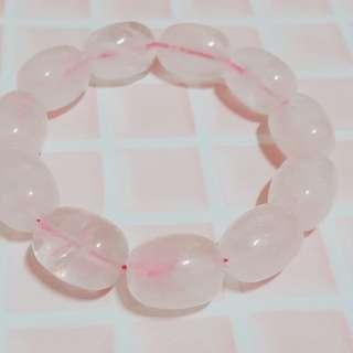 🚚 粉色原石手鍊/手環/手鏈
