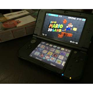 Nintendo New 3DS XL Black