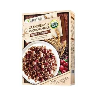 🍓【蔓越莓可可脆麥片】:350g/盒