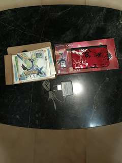 Nintendo Pokémon X & Y Limited Edition DS XL (Red)