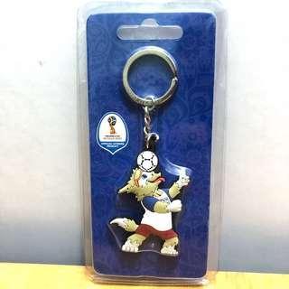 2018 FIFA 俄羅斯世界盃 官方匙扣 鎖匙扣 掛飾 Key ring 只有一款 100% Real 正貨 珍藏 紀念品 吉祥物 2018世界盃吉祥物 保證正貨