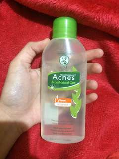 ACNES NATURAL CARE TONER (OIL CONTROL)